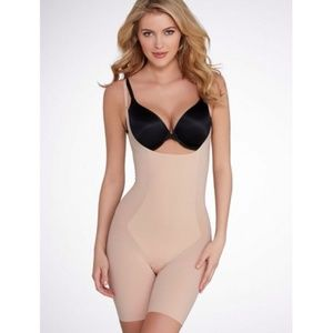 SPANX 10021R Thinstincts Open Bust Mid Thigh